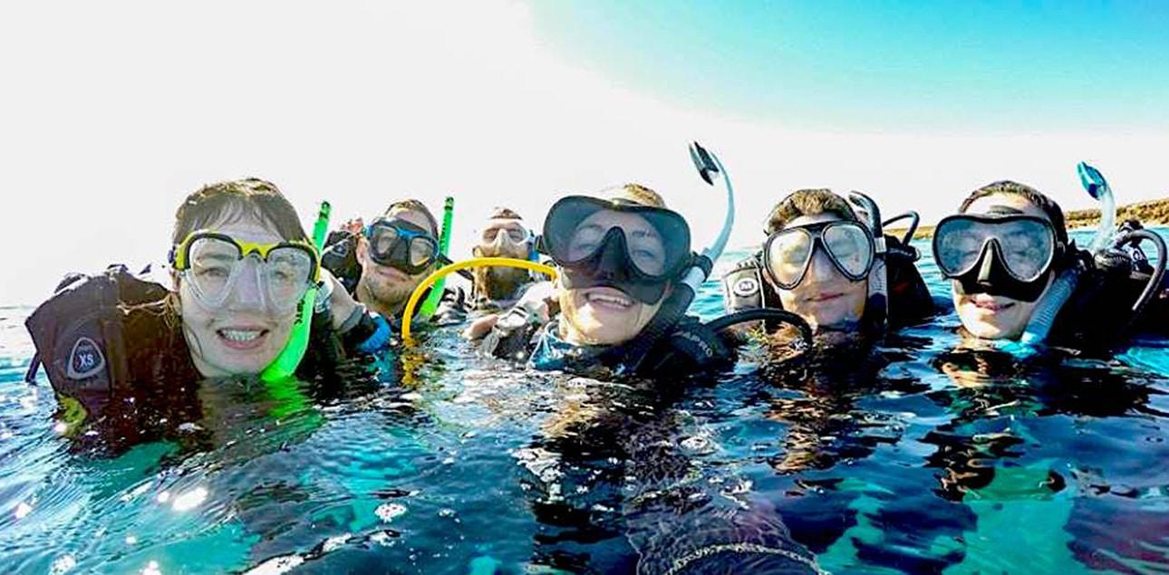Dive Ningaloo - DSD Selfie