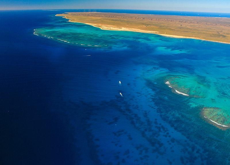 Aerial Ningaloo Reef