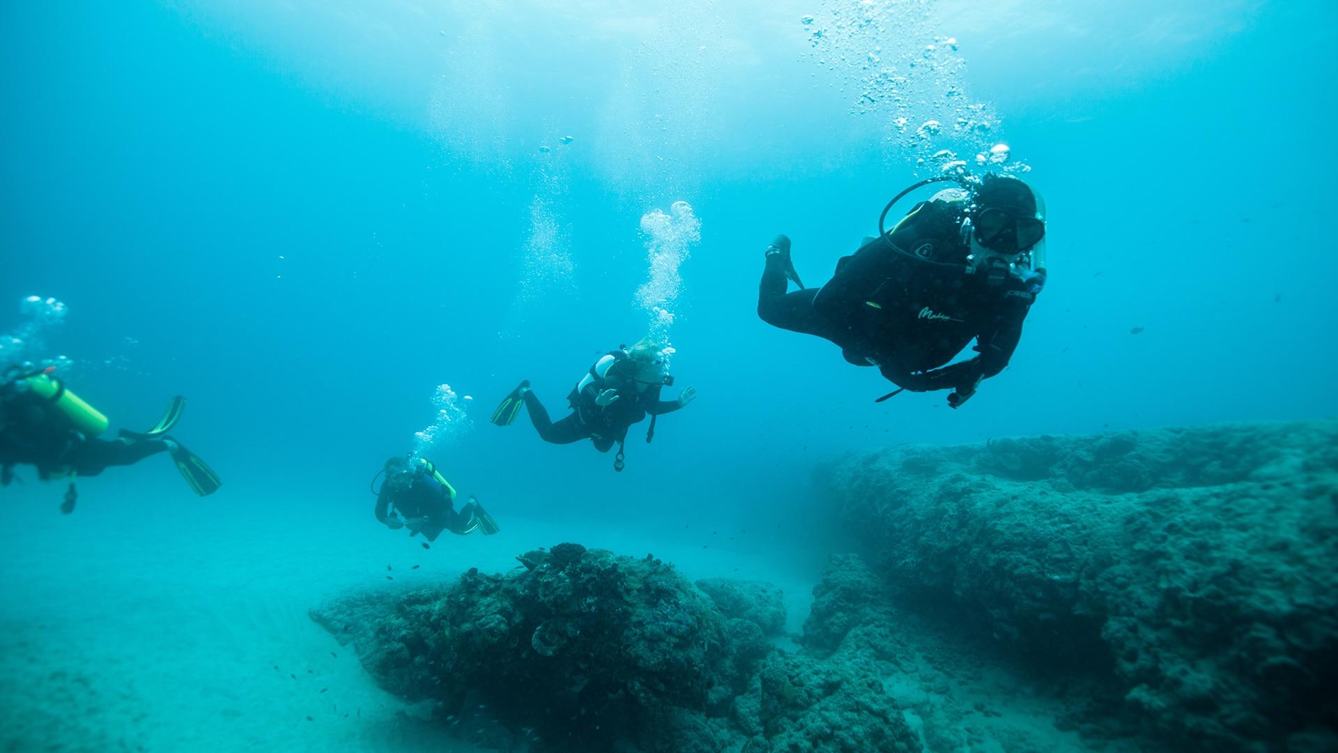 Dive Ningaloo - Guiding a dive