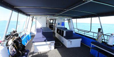 Dive Ningaloo - Ceto Back Deck