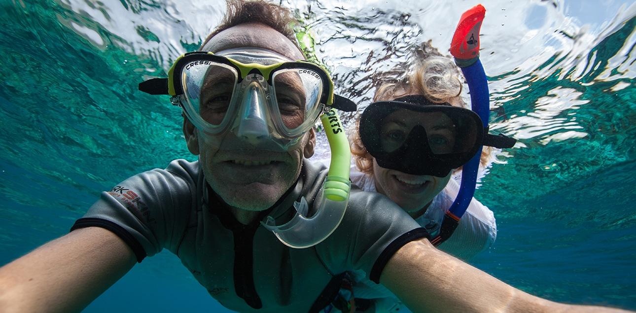 Dive Ningaloo - Snorkel Selfie