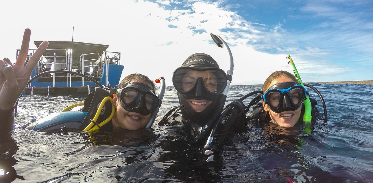 Dive Ningaloo - Newly Certified Open Water Divers