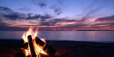 Dive Ningaloo - Campfire and Sunset