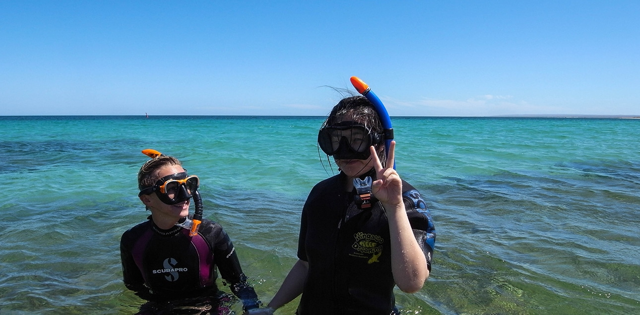 Dive Ningaloo - Snorkel Lessons