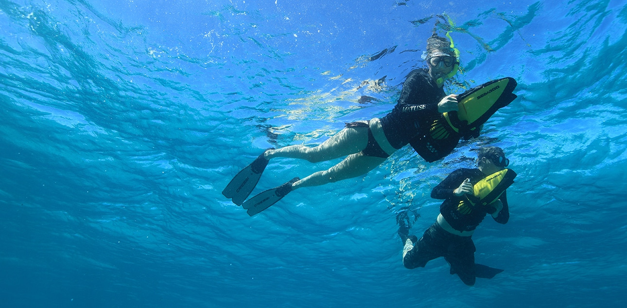 Dive Ningaloo - SeaDoo Scooters